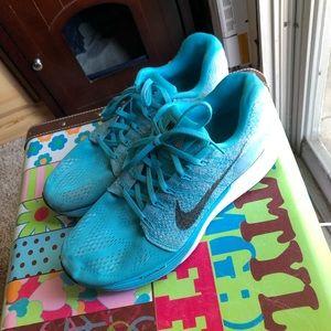 Pretty blue Nike's